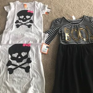 Other - Lot of Halloween clothes girls size 7/8